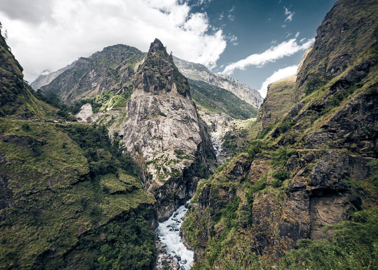 Canion circuit Annapurna Nepal