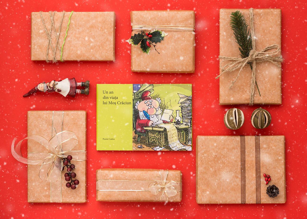 Carte Un an din viata lui Mos Craciun | Poezie cadou