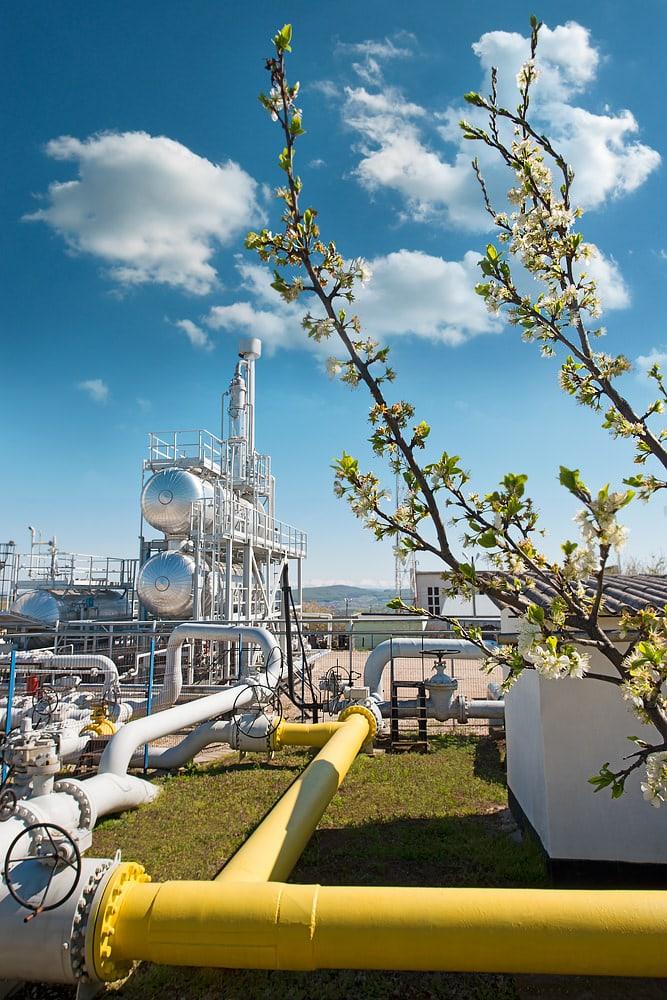Statie de uscare gaze naturale primavara Botorca