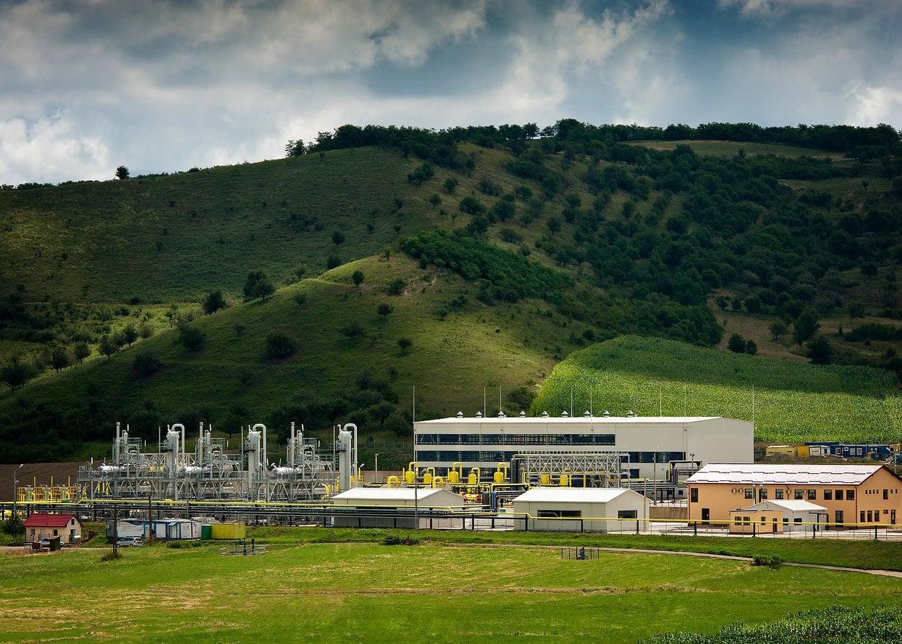 Statie moderna de comprimare gaze naturale