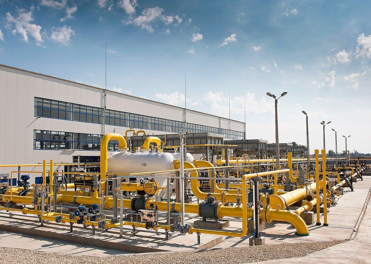 Statie moderna de comprimare gaze naturale Urziceni
