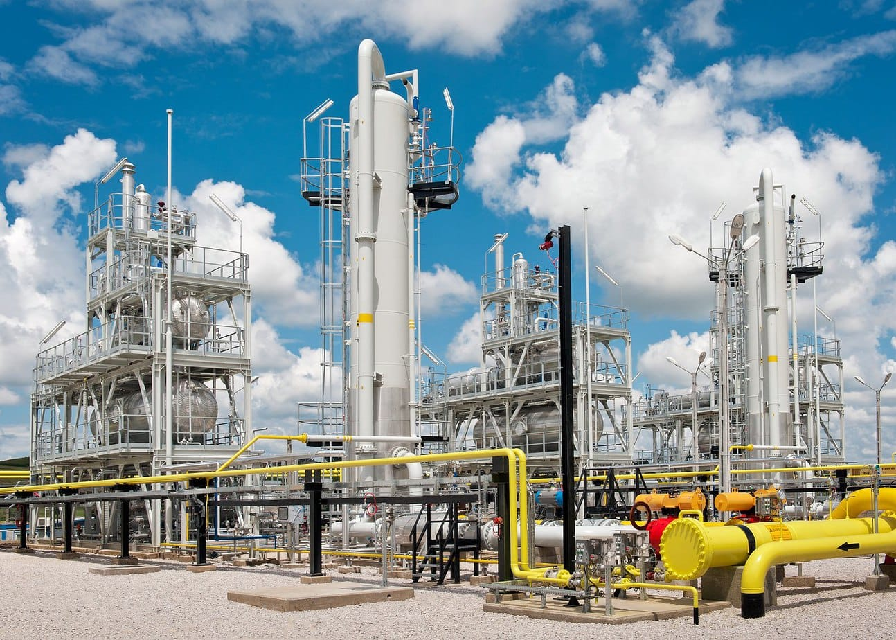 Statie moderna de uscare si comprimare gaze naturale Sarmasel