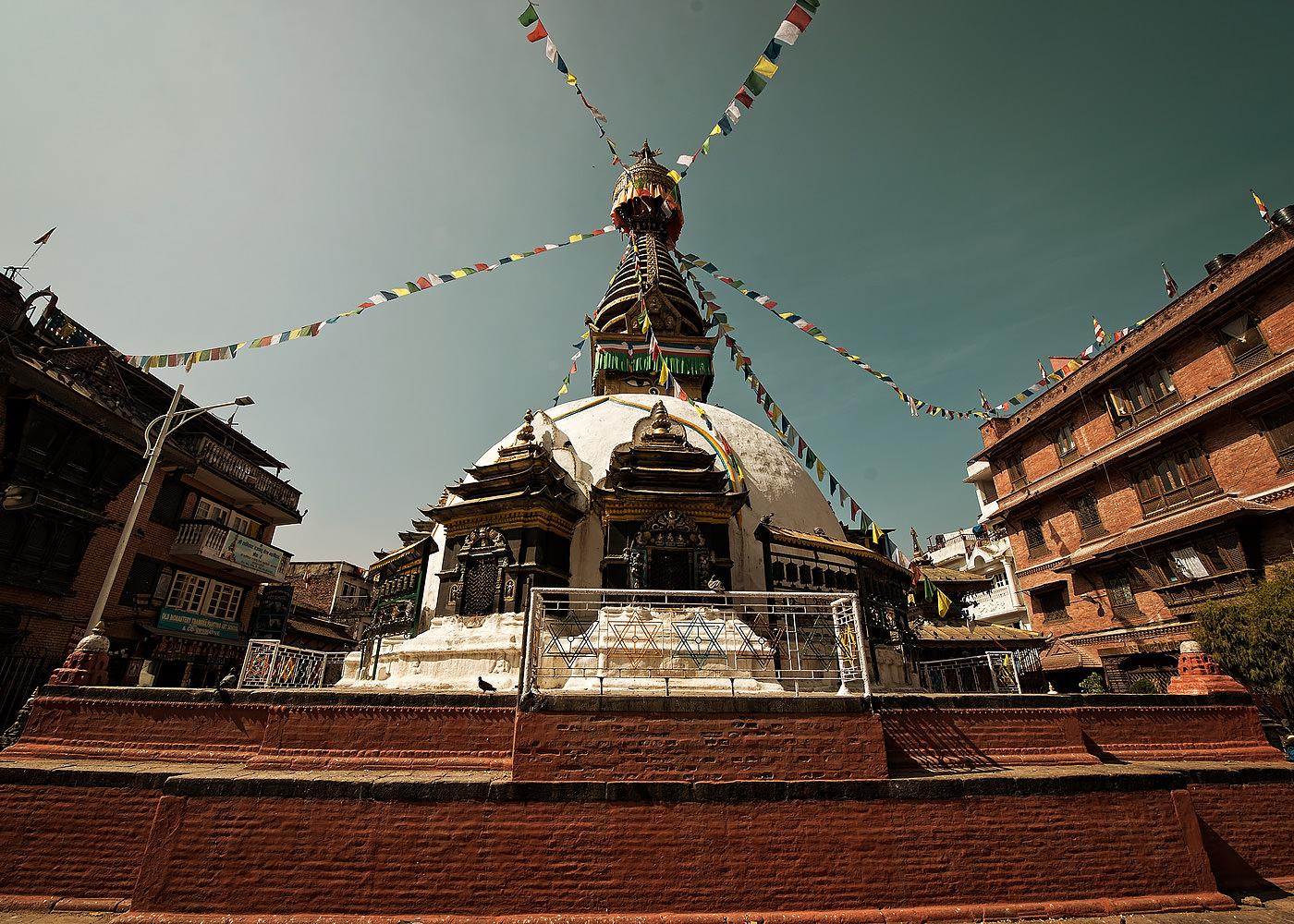 Templu budist stupa Nepal Kathmandu