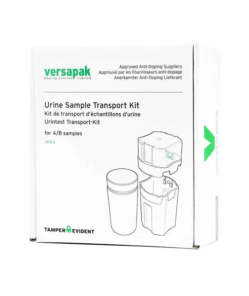 Urine A/B Sample Kit (DTC3) Versapak