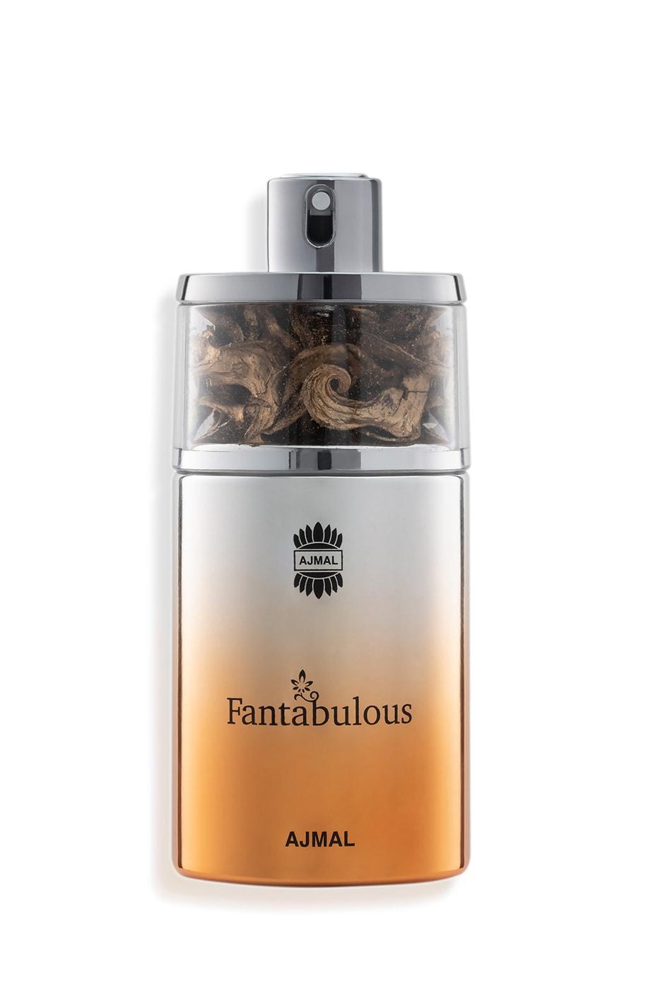Parfum AJMAL Fantabulous pe fundal alb